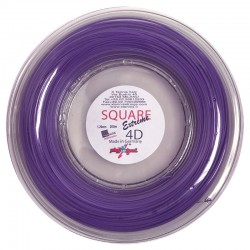 Square Extreme 4D tennis string copoly made in Germany tennis string